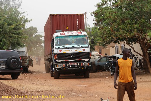 Container in Ouagadougou